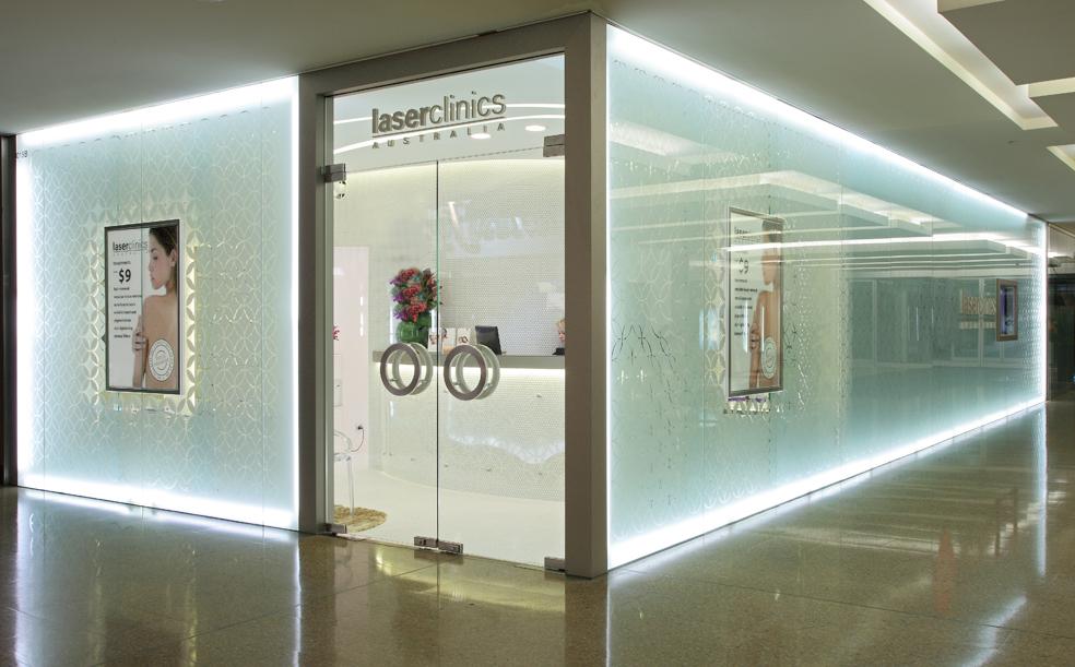 Laser Clinic - Westfield Bondi Junction - Giant Design